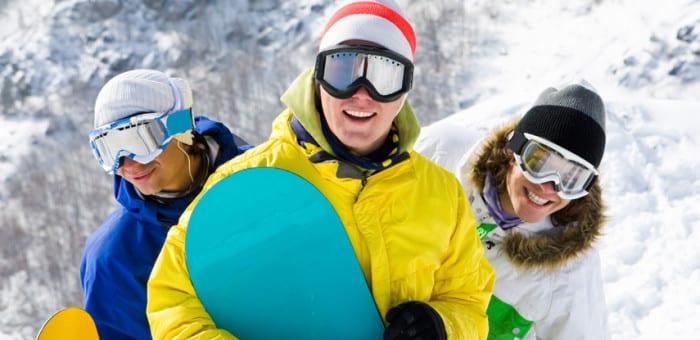 Skiing stag weekends